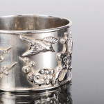 Chinese silver napkin ring