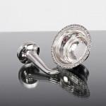 Scottish silver wine funnel