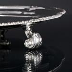 """12"""" Victorian silver salver"""