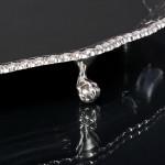 """Georgian style 12"""" silver salver"""