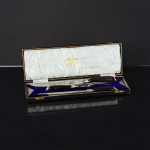 Antique 3-piece silver-plated carving set