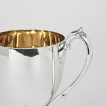 Victorian Scottish silver trophy cup