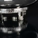 Edwardian Greco-Roman style silver bowl