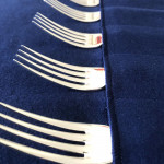 Langfords 12-piece tarnish-proof cutlery storage roll