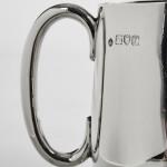 Antique silver child's mug