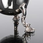 George II style silver cream jug