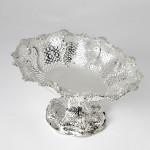 Antique silver fruit basket