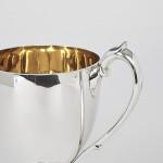 Edwardian Scottish silver trophy cup