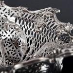 Edwardian pierced silver bowl