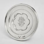 Antique silver travelling communion set