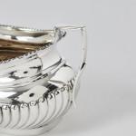 3-piece silver bachelor tea set