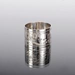 Victorian silver napkin ring