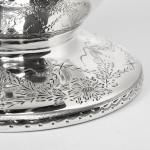 Victorian silver wine jug