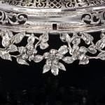 Versatile antique silver épergne