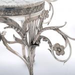 George III silver épergne