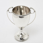 Art Deco style silver trophy cup