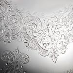 Impressive Victorian silver tray