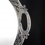 Victorian silver gallery tray
