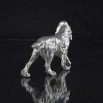 Large silver spaniel