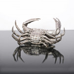 1st quality French silver crab dish