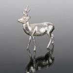Silver model roebuck