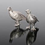 Brace of silver grouse