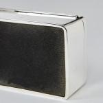 Antique silver cigarette box