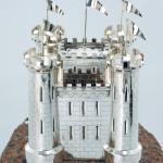 HMS Tyne silver centrepiece