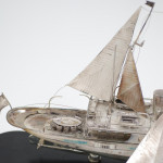 Model Motor Yacht Motorsailer