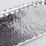 Arts & Crafts silver cocktail tray