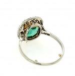 An Edwardian Emerald and Diamond Ring