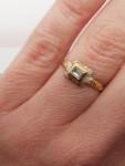 A Renaissance Diamond & Enamel Ring