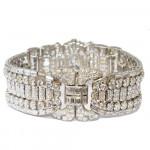 A Drayson Art Deco Diamond Bracelet