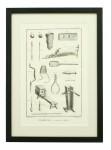 Paulmerie Tennis Engravings by Diderot.