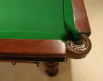 Antique full size Billiard, Snooker Table By Cox and Yeman