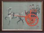 Equestrian Print