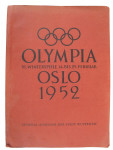 1952 Olympic Games Book