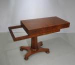 Bagatelle Table in Burr Amboyna Wood
