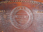 Antique Leather Trunk by Drew.