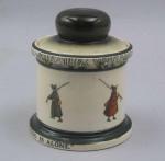 Royal Doulton Fishing Tobacco Jar