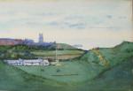 Cromer Golf Club Painting
