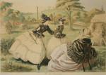 Archery Print of Ladies, The Fair Toxopholites.