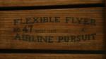 Flexible Flyer No. 47 Airline Pursuit. Toboggoning Sledge
