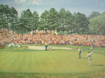 US Masters Golf Tournament in Augusta, Georgia.