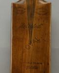 Jack Hobbs Signature Cricket Bat.