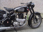 BSA Gold Flash Plunger Motorcycle