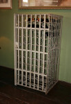 Steel Lockable Wine Rack for 100 Bottles