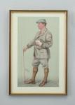 Set of Vanity Fair Golf Prints, Spy Prints.