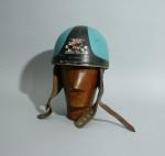 Vintage Cromwell motorcycle crash helmet.