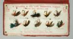 Vintage Allcock Salesman's Fly Folio. Fishing Book
